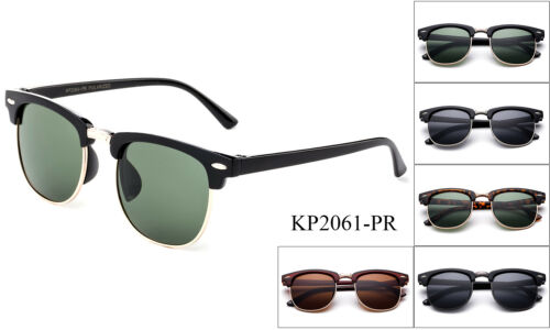 Polarized Kids Sunglasses Classic Vintage Boys Girls Children Toddler UV 100%