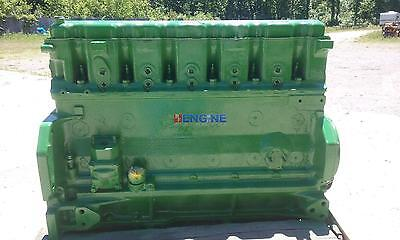 John Deere 4010 301 Oem Engine Long Block Used Bcn R26060r Hcn R26040r