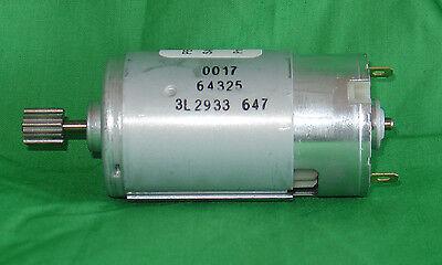 *New* Peg-Perego 12 Volt  Gearbox Motor - 10 Tooth (Gator, Polaris 700) 12v (Peg Perego Gator)