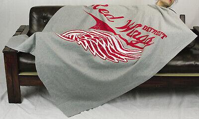 Northwest NHL Hockey Detroit Red Wings Sweatshirt Throw Blanket - Grey (Detroit Red Wings Throw Blanket)