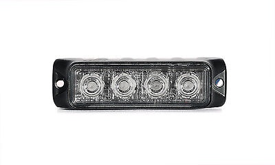 Swift 3.0 Tir 3 Watt 4 Led Emergency Vehicle Grill Warning Light Head