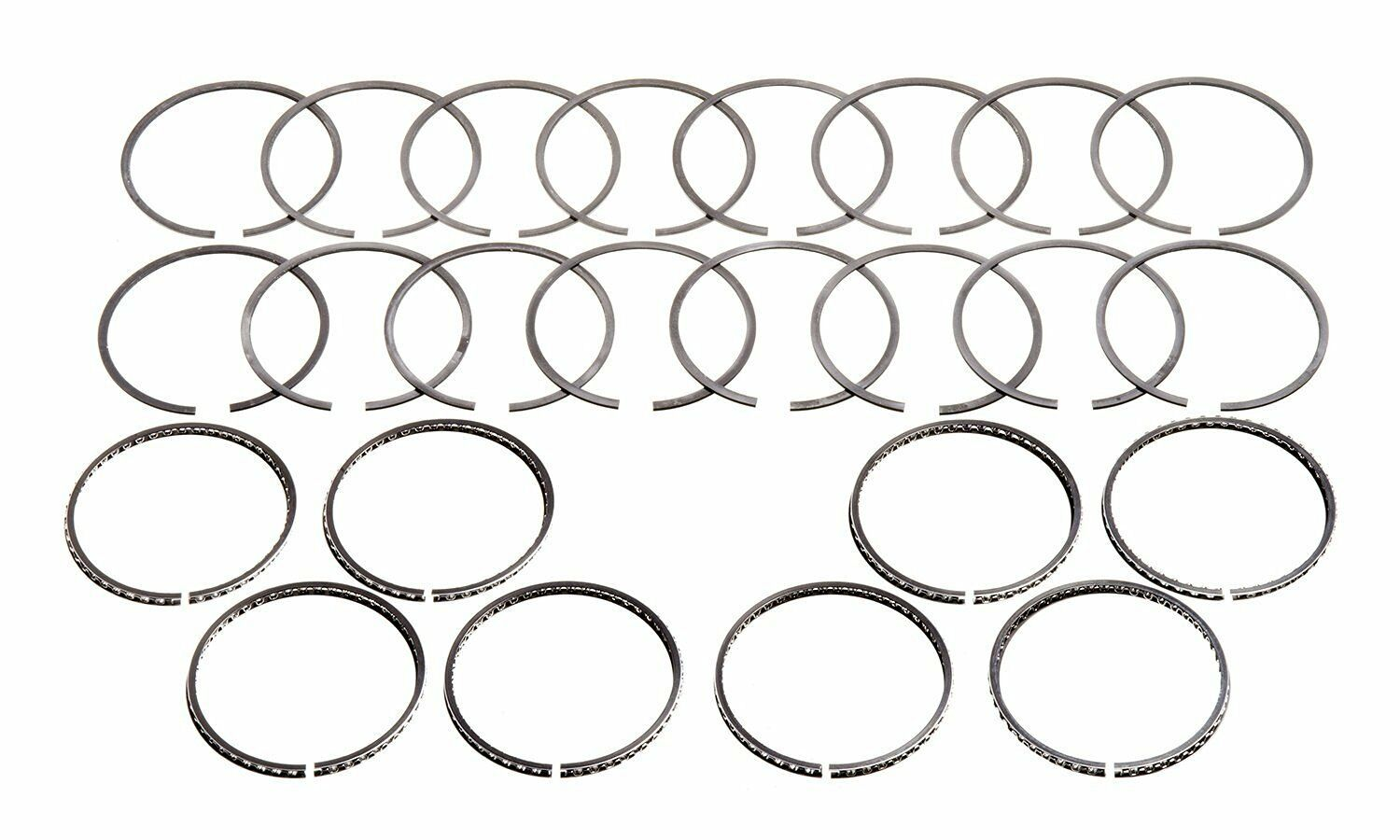 2M139030 CHROME MOLY RINGS 4.030 BORE SBC 350 383 FORD