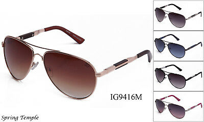 Retro Aviator Sunglasses For Men Women Eyewear Metal Frame Round UV (Retro For Women)