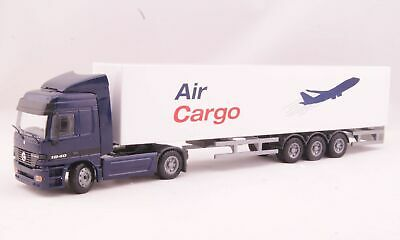JOAL 1:50 DIE CAST CAMION ARTICOLATO MERCEDES ACTROS AIR CARGO ART 360