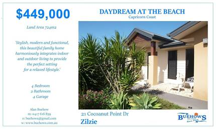 HOUSE FOR SALE: DAYDREAM AT THE BEACH