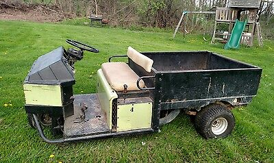 Cushman Truckster Utv Utility Vehicle Golf Cart