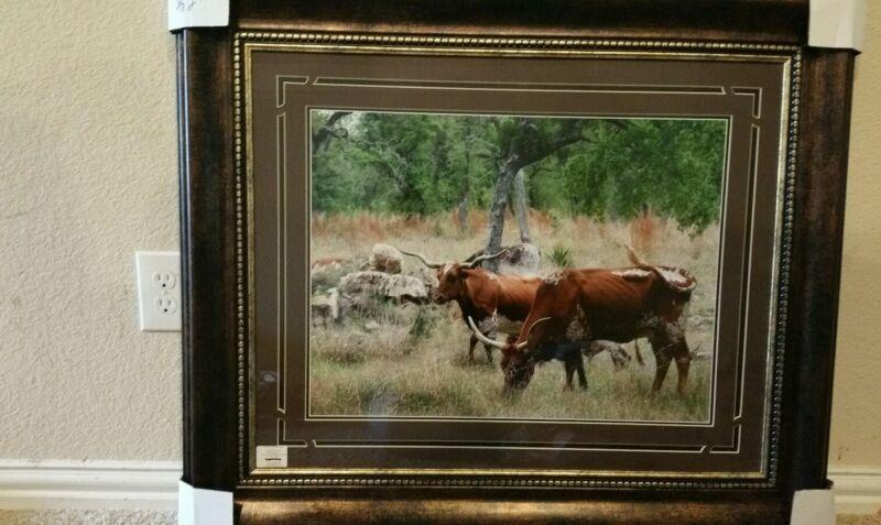 Texas Cattle Art