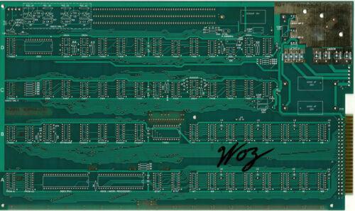 Steve Wozniak SIGNED Apple I replica Motherboard Comp LETTER PSA/DNA AUTOGRAPHED