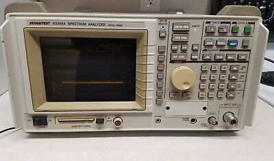Advantest R3265a Spectrum Analyzer 100hz To 8ghz With Gp-ib