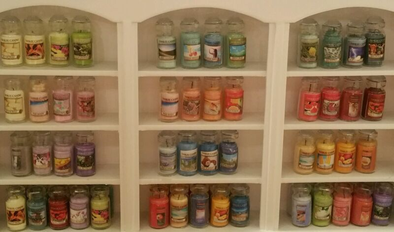 1:12 scale hand Crafted Miniature Dollhouse Jar Candles  4/$12.   FREE SHIPPING!