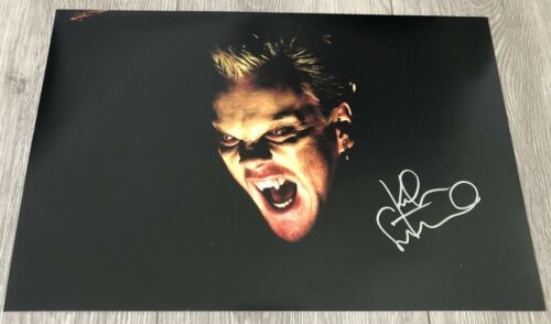KIEFER SUTHERLAND SIGNED AUTOGRAPH THE LOST BOYS 12x18 PHOTO A w/EXACT PROOF