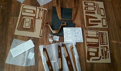 2005 Cadillac STS 10158 Honey Burl Wood Dash Kit 3-D pieces vogue tyre edition