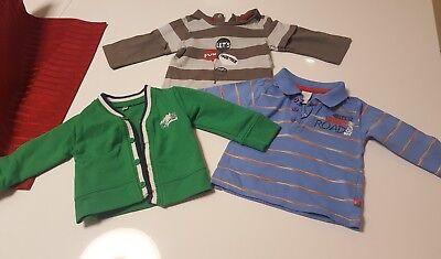 2 x T-shirt für Baby, Gr. 68 plus Pulli gr. 68 gebraucht kaufen  Konstanz