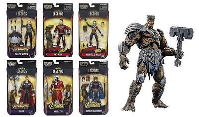 Marvel Legends Infinity War Avengers Set Of 6 Cull Obsidian Wave 2 Pre Order May