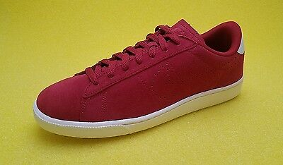 lowest price 8e420 e2b43 Mens Nike Tennis Classic CS Suede Casual Shoes Size 11.5 Red White 829351  600