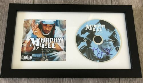 MURPHY LEE SIGNED AUTOGRAPH MURPHY'S LAW FRAMED CD & BOOKLET w/PROOF