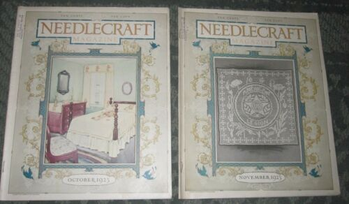 2 OCTOBER 1923 AND NOVEMBER 1923 PUBLICATIONS - NEEDLECRAFT