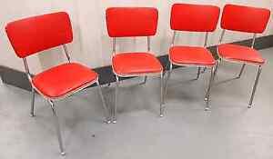 Retro Kitchen Chairs (Set of 4) North Melbourne Melbourne City Preview