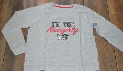 So Authentic American Heritage Light Weight Sweat Shirt I'm The Naughty One - American Heritage Sweatshirt