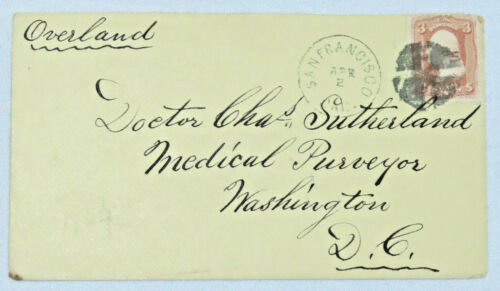 ✔️U.S. #65 OVERLAND MAIL CAL DC Cover DOCTOR SUTHERLAND ***GOOD DEALS WITHIN***