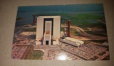 Postcard Apollo Saturn Exploration Vehicles Are Prepared For Launch -