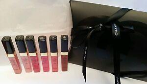 Chanel lipgloss levres glossimer half size gift set present gloss astral futile