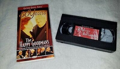 Gaither Gospel Series 50 Years The Happy Goodmans VHS Video Tape 2000  for sale  Corryton
