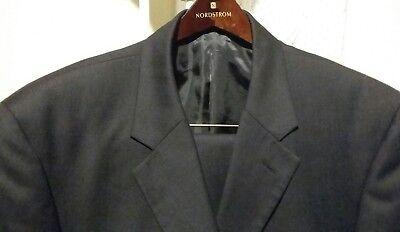 ALBERTO CELINI Collezione 2PC 3BNT Men's Black Suit Size 42L ♢W36/31L 100% Wool for sale  Evanston