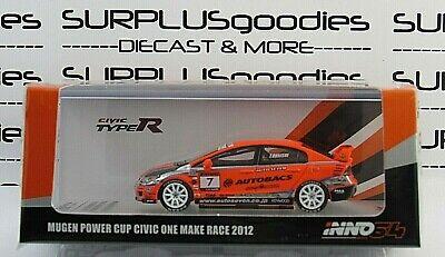 INNO64 1:64 2019 HONDA CIVIC Type-R FD2 MUGEN Autobacs #7 Make One Race 2012 na sprzedaż  Wysyłka do Poland