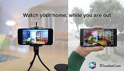 Wir brauchen eine App, die das Smartphone in eine Überwachungskamera umfunktioniertFoto: WardenCam