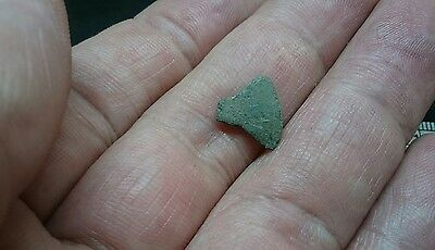 Lovely Viking Bronze votive axe pendant part could be still drilled & worn L444
