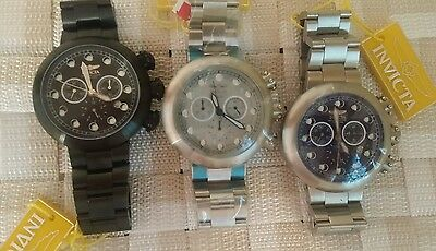 INVICTA-LUPITAS-3340-3342-3344-CHRONO / Choose 1 / ( 3 MODEL ONLY 1 on ebay)
