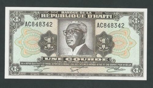 HAITI  1 GOURDES 1981  P- 253  UNC