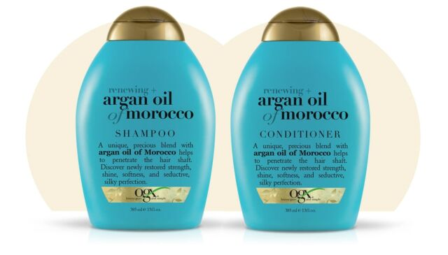 Duo OGX Organix Argan Oil Of Morocco Renewing Shampoo 385ml + Conditioner 385ml