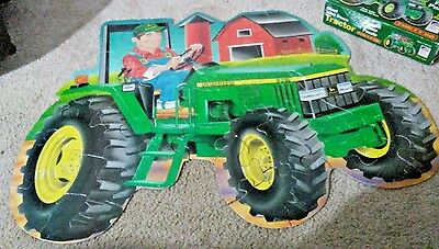 Tractor/Logo  Shaped Floor Puzzle 34 Pcs # 265 Ages3+ Giant 3x2' Education