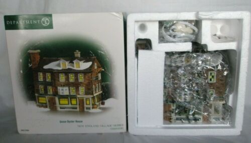 Dept. 56 New England Village 2006 UNION OYSTER HOUSE  57004  Retired  2008