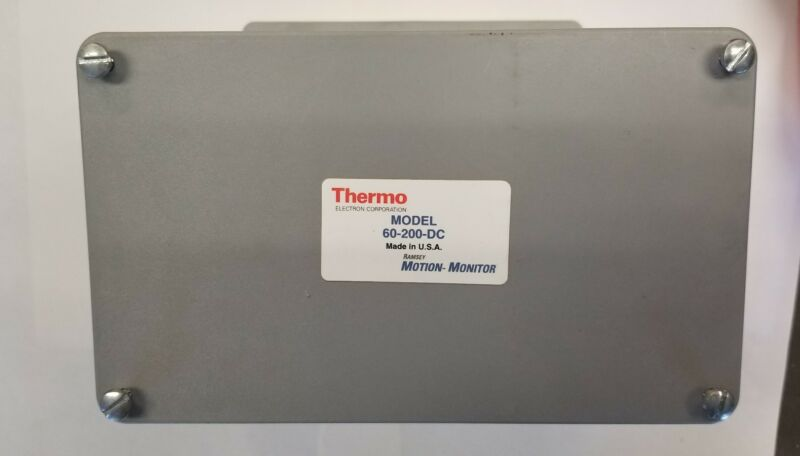 60-200-DC THERMO RAMSEY MOTION-MONITOR