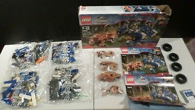 Lego Jurassic World T. Rex Tracker 75918 DAMAGED BOX Factory Sealed Packages