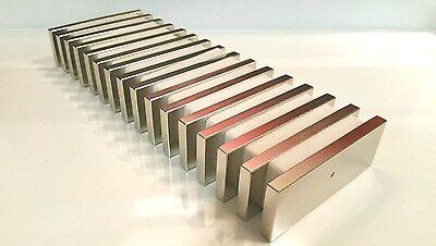 Large Neodymium N52 Block Magnet Super Strong Rare Earth 3k Gauss 3 X 1 X 14