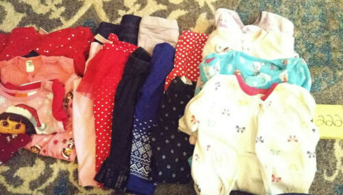 Girls Clothes 12-18 Month - Fall/Winter - Mixed Lot of 18 Pieces #222