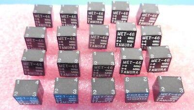 Tamura Met-46 Audio Signal Transformers Lot Of 20