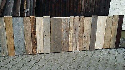 Vintage Holz Bretter, Leiter, Fenster Läden