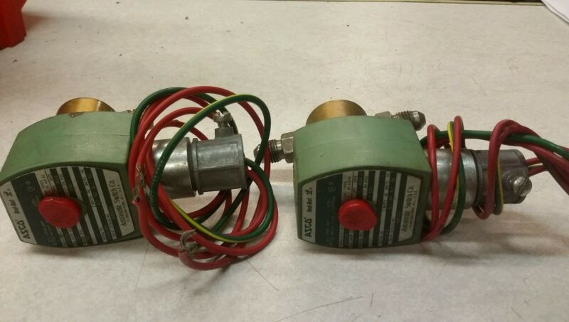ASCO RED-HAT II MP-C-080 Solonoid Valve 238210-032D 120/60 Qty 2