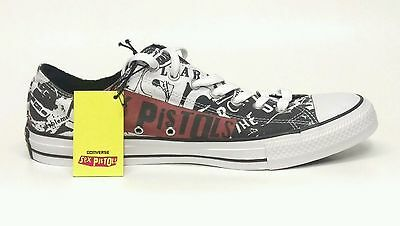Sex Pistols Converse All Star Mens 3  Womens 5