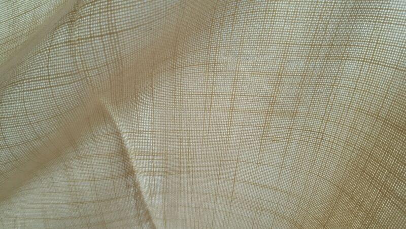"""Tan Casement Fabric!!  100"""" Wide!!  Free Shipping!!"""