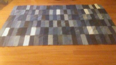 Twin Size Denim/ Jean Quilt Top 56x 94