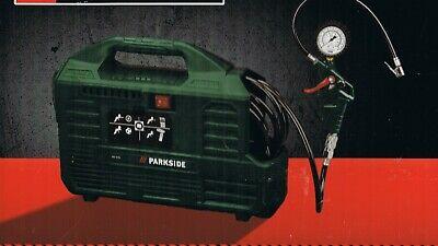 Kompressor tragbar 1100 W, 8 bar, 180 L/min Manometer Zubehörset 9-tlg. PKZ 180