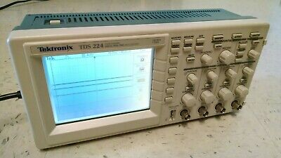 Tektronix Tds 224 100mhz 4 Channels Tds224