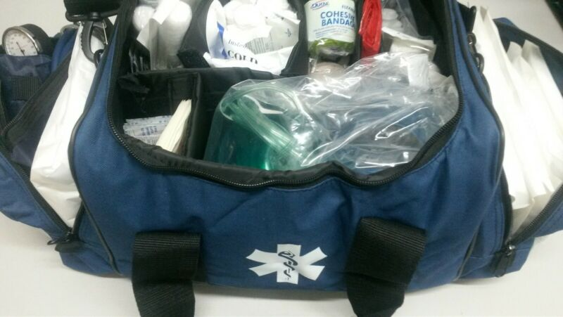 TRAUMA KIT FULLY STOCKED ALS.