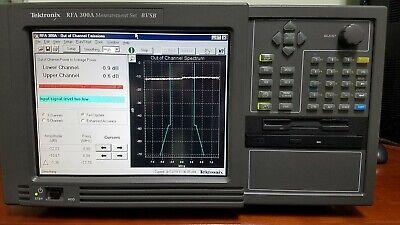 Tektronix Rfa-300a 8vsb Analyzer New Lower Price